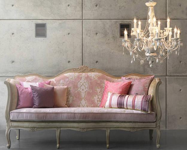Sill 243 n antiguo tapizado con telas modernas tendencia deco actual moda de hoy