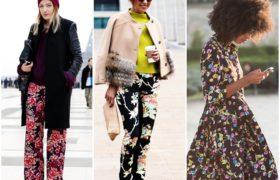 Las flores en tus prendas, una tendencia para este invierno