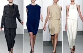 El minimalismo en las prendas, siempre en tendencia