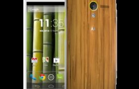 Motorola lanzará Smartphones con terminaciones en madera