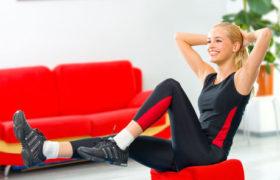 Tendencia a realizar ejercicios en casa