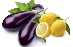 Para bajar de peso: Berenjena y limón