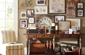 Tendencia en decoración con objetos de colección