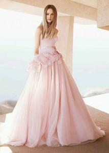 Vestidos de Novia Rosados 35