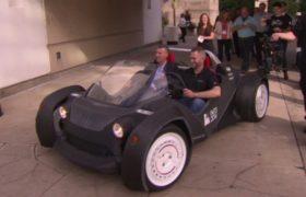 El primer coche 3d impreso