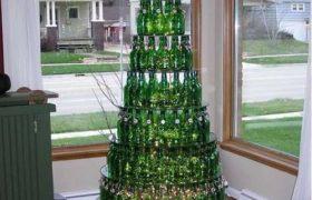 Tendencia Arboles de Navidad reciclados