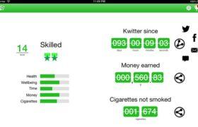 Las aplicaciones que son tendencia para dejar de fumar
