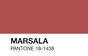 Marsala, el color tendencia para el 2015