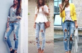 Moda en jeans 2015