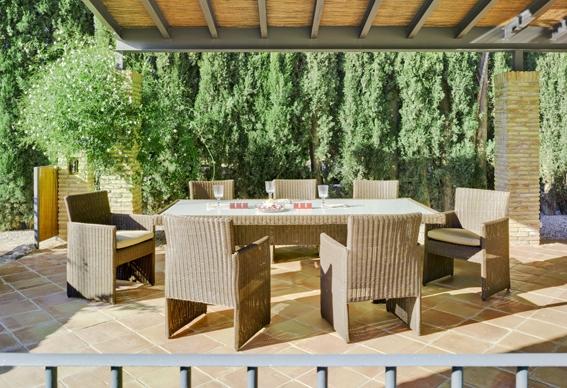 Tendencia en muebles rattan para exterior o interior for Muebles para terrazas exteriores