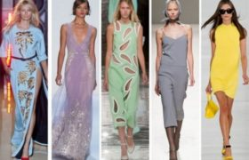Colores, texturas y estampados tendencia 2015