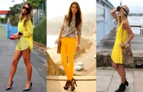 El amarillo es el nuevo color que marcará tendencia