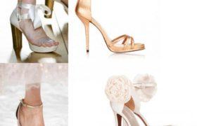 Las últimas tendencias en zapatos de novias para esta temporada