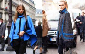 Ponchos y capas: tendencia 2015