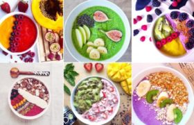La última tendencia en desayunos saludables y nutritivos, los batidos smoothie bowl.