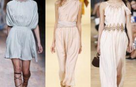 El estilo helénico que evoca a la antigua Grecia es la última tendencia para el verano