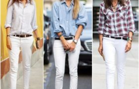 "Jeans blancos, la prenda ""it"" del próximo verano."
