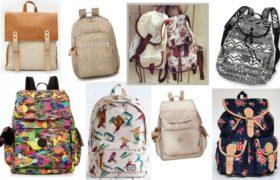 Las mochilas son la nueva tendencia en bolsos
