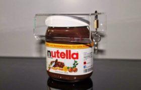 Nueva tendencia: Un candado para el frasco de Nutella