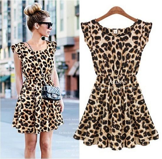 4a9637bb2 vestidos de verano aninal print