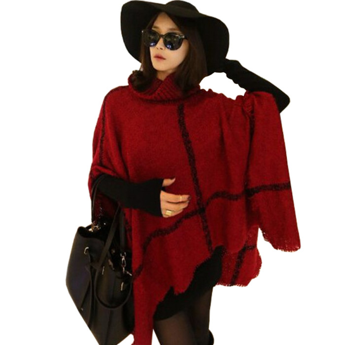 poncho2016-Spring-Autumn-Women-O-Neck-Batwing-Bat-Sleeve-Stripes-font-b-Fringed-b-font-Stitching