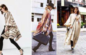 Capas y ponchos, los must de esta temporada: Cómo usarlos