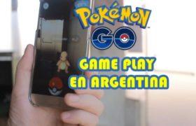 Pokémon Go ya es furor en Argentina