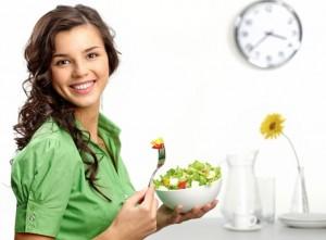 comer vegetales