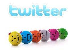 En Twitter se pueden enviar mensajes con emoticones