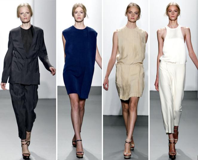 el minimalismo en las prendas siempre en tendencia moda hoy