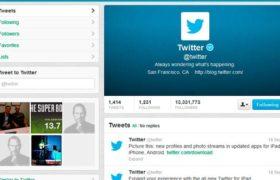 El nuevo diseño de Twitter ya está disponible