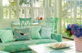 El verde menta en la decoración interior