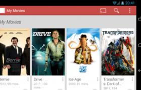 Play movies, servicio de videoclub online de Google