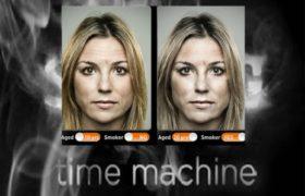 Smoking Time Machine: Aplicación que indica los efectos del tabaco en el aspecto