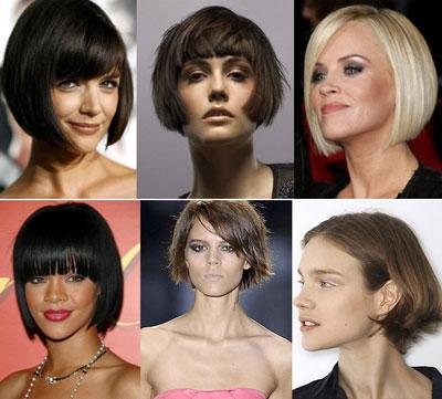Corte carre en pelo corto