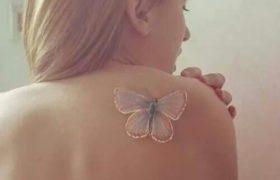 Tendencia en tatuajes blancos