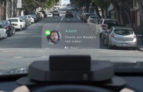 Computadora que se puede usar en el auto: Sistema Navdy