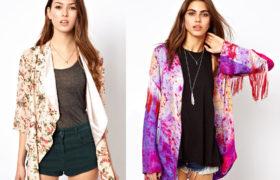 Kimono style: la nueva tendencia para este verano 2015