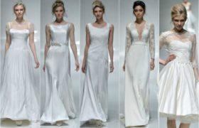 Novias tendencia 2015: Imágenes de vestidos