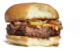La hamburguesa que tiene aspecto a carne pero es 100% natural es tendencia