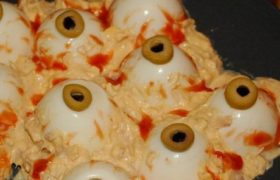 Receta comida monstruosa para halloween