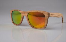 Lentes con marco de madera son tendencia