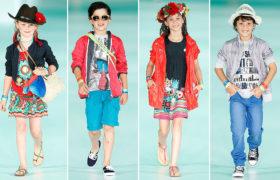 Ropa para chicos verano 2015 con color