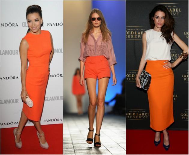 Tendencia en vestidos para fiesta 2016 moda hoy - Pared naranja combina con ...