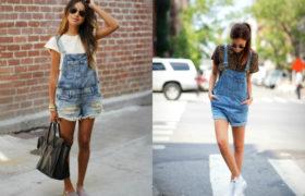 Nueva tendencia: enteritos de jean