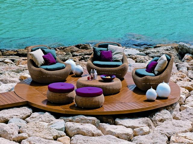 Tendencia en muebles rattan para exterior o interior Moda Hoy