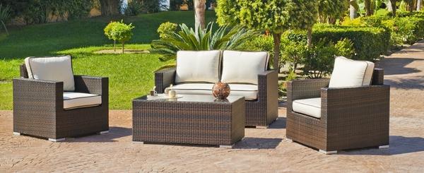 Tendencia en muebles rattan para exterior o interior for Sillones para jardin exterior