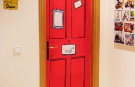 Tendencia: puertas decoradas y de color