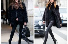 Los abrigos de piel sintética son tendencia
