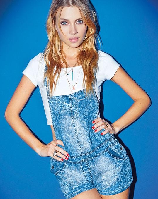 Cuesta Blanca moda 2015 enteritos jeans